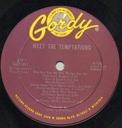 LP - The Temptations - Meet The Temptations - Mono