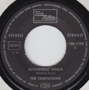 7inch Vinyl Single - The Temptations - Psychedelic Shack