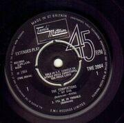 7inch Vinyl Single - The Temptations - The Temptations - Original UK EP