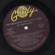 LP - The Temptations - With A Lot O' Soul