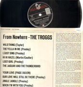 LP - The Troggs - From Nowhere - non-laminated sleeve
