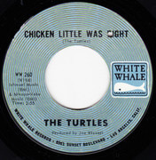 7inch Vinyl Single - The Turtles - She's My Girl / Chicken Little Was Right