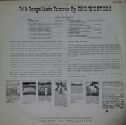 LP - The Weavers - Folk Songs Made Famous By The Weavers