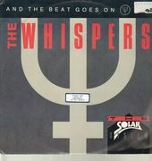 12inch Vinyl Single - The Whispers - And The Beat Goes On - White label