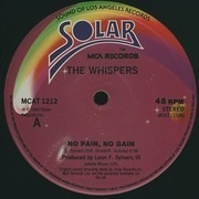 12'' - The Whispers - No Pain, No Gain