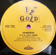 12inch Vinyl Single - The Whispers - And The Beat Goes On / It's A Love Thing