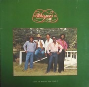 LP - The Whispers - Love Is Where You Find It - Gatefold