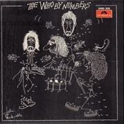 LP - The Who - By Numbers - Original 1st Austrian. Black Cover