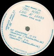 LP - The Who - Live At Leeds - ORIGINAL UK, w INSERTS