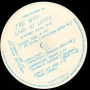 LP - The Who - Live At Leeds - 9 Insets stapled cover blue stamp