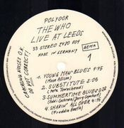 LP - The Who - Live At Leeds - Gatefold
