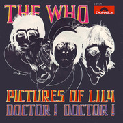 7'' - The Who - Pictures Of Lily / Doctor! Doctor! - mod psych