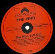 LP - The Who - Sell Out