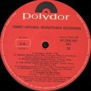 LP - The Who - Tommy - Soundtrack