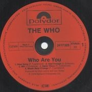 LP - The Who - Who Are You - Ltd Edition