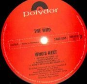 LP - The Who - Who's Next - original 1st german