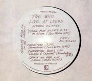 LP - The Who - Live At Leeds - including all inserts except poster