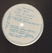 LP - The Who - Live At Leeds - Red Lettering