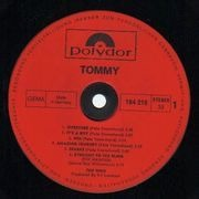 Double LP - The Who - Tommy