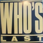 Double LP - The Who - Who's Last