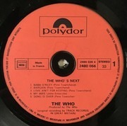 LP - The Who - Who's Next - France