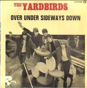 7inch Vinyl Single - The Yardbirds - Over Under Sideways Down - Original French EP