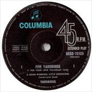 7inch Vinyl Single - The Yardbirds - Five Yardbirds