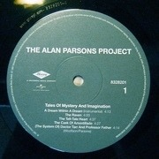 LP - The Alan Parsons Project - Tales Of Mystery And Imagination - 1987 Remix Album