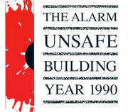 7'' - The Alarm - Unsafe Building  Year 1990