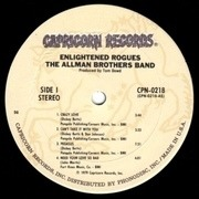 LP - The Allman Brothers Band - Enlightened Rogues - Gatefold