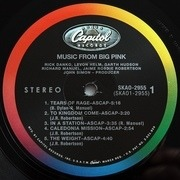 LP - Band - Music From Big Pink - LP