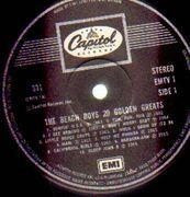LP - The Beach Boys - 20 Golden Greats