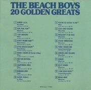 CD - The Beach Boys - 20 Golden Greats