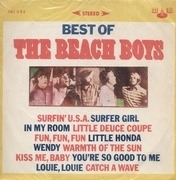 LP - The Beach Boys - Best Of The Beach Boys - Red