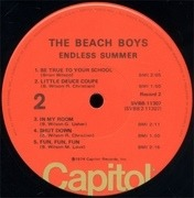 Double LP - The Beach Boys - Endless Summer - POSTER