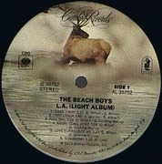 LP - The Beach Boys - L.A. (Light Album)