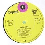 LP - The Beach Boys - Surf Beat Fun - green labels