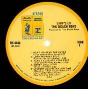 LP - The Beach Boys - Surf's Up