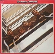 Double LP - The Beatles - 1962 - 1966, Red Album - French Contract Pressing