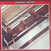 Double LP - The Beatles - 1962 - 1966, Red Album - Circle