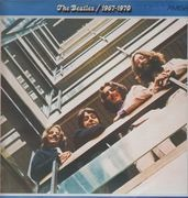 LP - The Beatles - 1967 - 1970, Blue Album - BLUE LABEL AMIGA