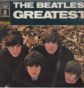 LP - The Beatles - Beatles' Greatest - circle on labels