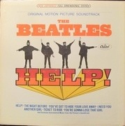 LP - The Beatles - Help! - Gatefold