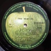 LP - The Beatles - Let It Be - original 1st french