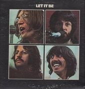 LP - The Beatles - Let It Be - US RED APPLE