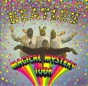 2x7'' - The Beatles - Magical Mystery Tour - yellow lyric sheet, double numbering matrix