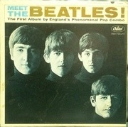 LP - The Beatles - Meet The Beatles! - 2nd Press