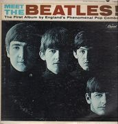 LP - The Beatles - Meet The Beatles!