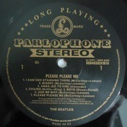 LP - The Beatles - Please Please Me - Remastered