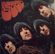 LP - The Beatles - Rubber Soul - Apple Logo On Rear Cover